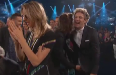Harry Styles grabbed Niall Horan's package at an awards show, because banter