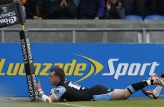 There's a serious problem with try celebrations in rugby and Stuart Hogg tried to fix it last weekend