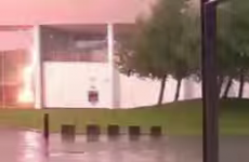 Watch: This lightning strike in Dublin was a little too close for comfort