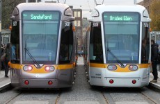 Luas services restored after lightning strike causes power outage