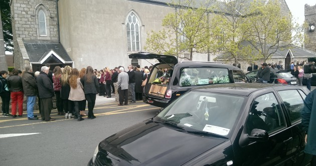 "Ana Hick's mother tells funeral: ""She lit up everyone's lives"""