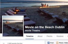 Is the mysterious Movie on the Beach event in Dublin really happening?