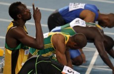 WATCH: Bolt disqualified, leaving Blake to win 100m world title