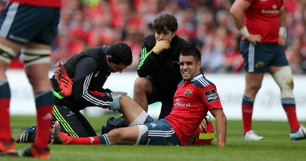 The Conor Murray pictures that no Munster or Ireland fan wanted to see