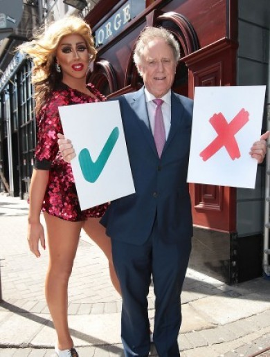 People cannot get over Vincent Browne's referendum broadcast from The George
