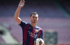 A former Arsenal defender made his debut for Barcelona yesterday, 9 months after joining