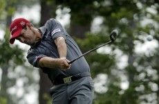 Pádraig Harrington came agonisingly close to qualifying for the US Open