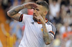 Man United target Otamendi plans to force a move away from Valencia