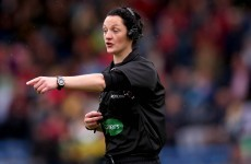 This female referee is set to make GAA history on Sunday