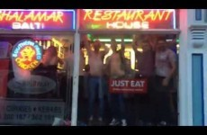 A nightclub shut down, so punters took the party to a nearby kebab shop