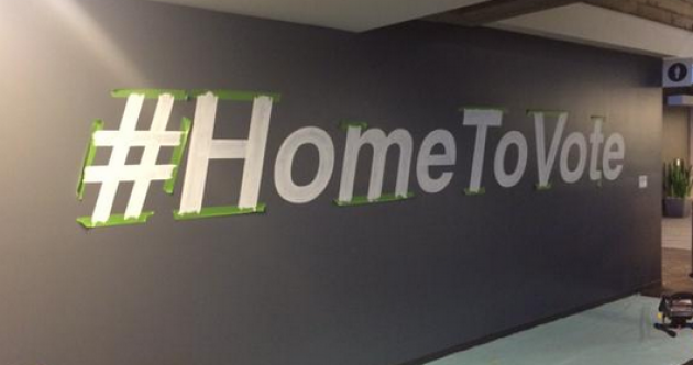 Twitter has a special place reserved for all those who came #HomeToVote