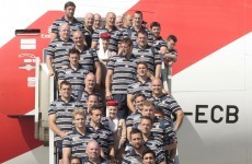RWC: Teams begin to arrive in New Zealand