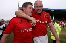 ROG: Munster will move on from Paul O'Connell - that's what happens in sport