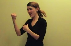 This passionate sign language rendition of Lose Yourself is a thing of beauty
