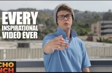 This guy just excellently took the piss out of every inspirational video ever