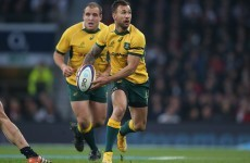 Watch out, England: Quade Cooper is back and he's tearing defences apart