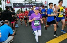 A 92-year-old cancer survivor just became the oldest woman to finish a marathon