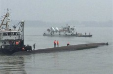 At least five dead after cruise ship with 458 on board capsizes