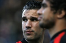Van Persie hints at United exit for 'family reasons'