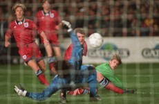 The man who scored THAT goal in 1995 had no issues playing against the country of his birth