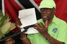 Disgraced former FIFA VP Jack Warner hailed as 'Robin Hood' by the newspaper he owns