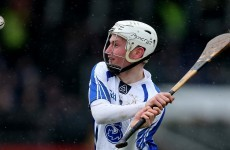 Brian O'Halloran asked to fill Pauric O'Mahony's boots for Waterford hurlers against Cork