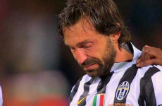 Nobody was able to cope with the distressing images of Andrea Pirlo crying