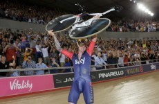 Go Wiggo! Bradley smashes world record for distance cycled in an hour