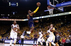 Overtime was needed to settle Game 2 of the NBA Finals last night