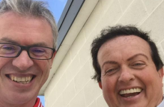Joe Brolly and Marty Morrissey seem to be best of buds again