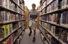 Man does the same dance routine at 100 different locations…