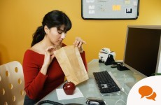 Eating lunch at your desk won't earn you brownie points with your boss...