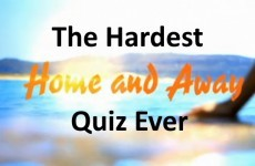 The Hardest Home And Away Quiz Ever