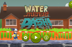Someone's made an Irish water computer game with angry protesters and politicians' cars