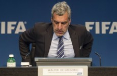 FIFA's communications chief steps down in wake of TV joke about Blatter and co