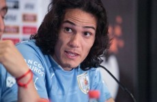 Edinson Cavani had to apologise to people of Jamaica after 'African' mistake