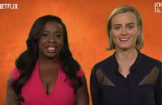 Watch OITNB's Taylor Schilling make a complete hames of the word 'craic'