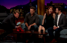 Chris Pratt was challenged to run in heels, and was unexpectedly good at it