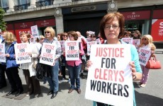 """Devastated"" Clerys workers picket landmark store following shock closure"