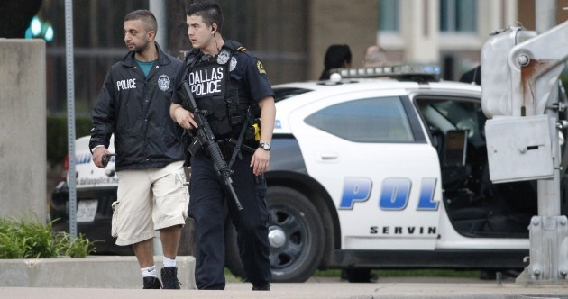 Dallas: Suspect in attack on police HQ killed, bombs found in van