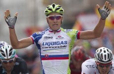 La Vuelta: Sagan takes his second stage, this time without controversy