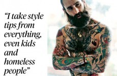This 'homeless' style tip from a hipster model in the Sunday Times is just...