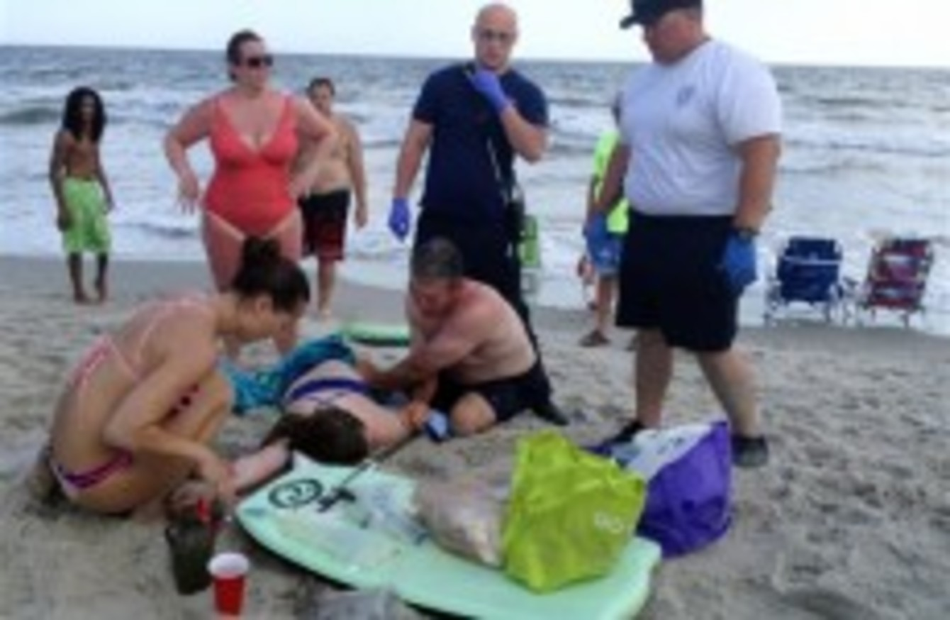 Nightmarish Scene As Two Teens Lose Limbs In Nearby Shark Attacks