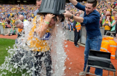 Remember that time we were all chucking ice water over each other?