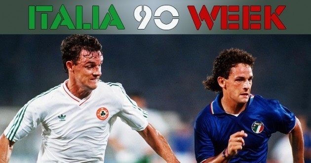'We watched the Italy game on a big screen at my sister's wedding reception'
