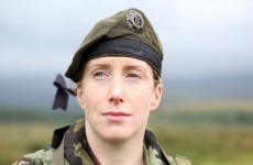 There are very, very few women in the Irish Army…