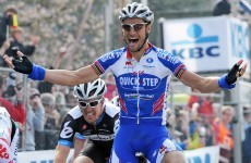 Blazing saddle: Boonen owns up to embarrassing injury
