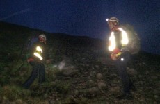 Total darkness didn't stop Galway rescuers reaching two men trapped on a mountain