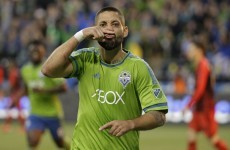 Clint Dempsey went full Paul Galvin for his sending off last night