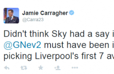Jamie Carragher sums up Liverpool's horrible run of Premier League away fixtures